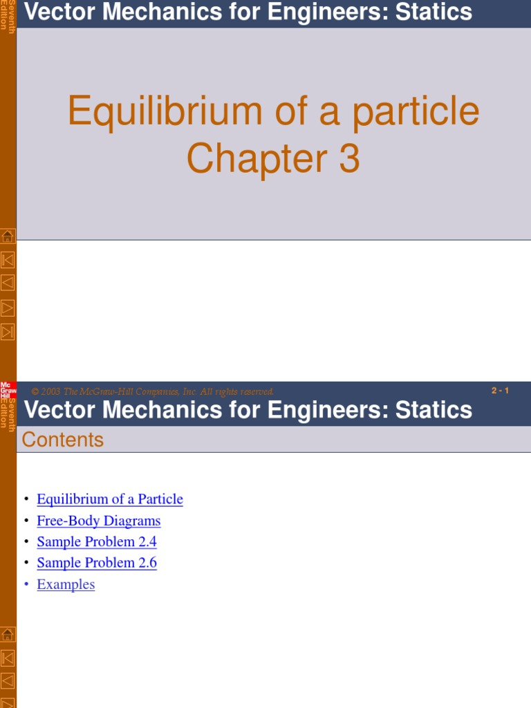 Ch 3 Total Force Tension Physics Engineering Statics Problem Solutions Free Body Diagram Equilibrium