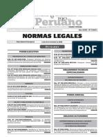 Normas Legales, lunes 9 de noviembre del 2015