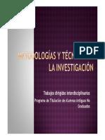 Presentacion_Metodologías de La Investigación