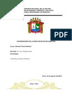 Conversion de La Pena Peru
