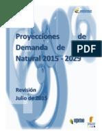 Proyeccion Demanda Gas Natural Revision Julio2015