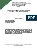 Documentos Orientaciones Estudiantes Conn Discapacidad Cogn