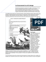 Art Peer Assessment Example english document
