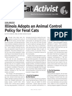 W.M. Anderson, Illinois Adopts an Animal Control Policy for Feral Cats