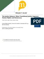 Olsen Et Al 2010 the Justice Balance