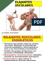Relajantes Musculares