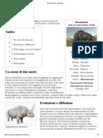 Elasmotherium - Wikipedia