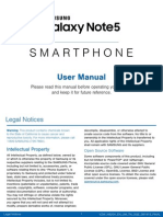 Manual Galaxy Note 5