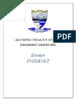 Ensayo Internet b