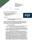 2015-10-26 Plaintiff's Letter to Defendant Regarding Discovery (Flores v DOJ) (FOIA Lawsuit)