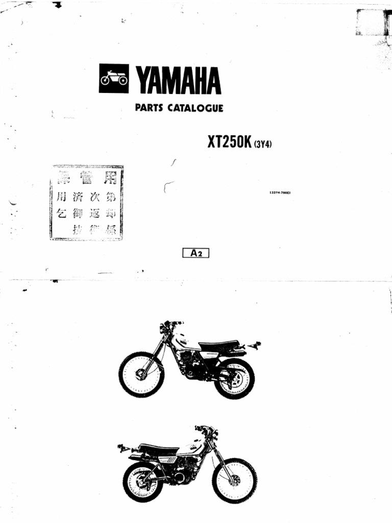 XT250K 1983