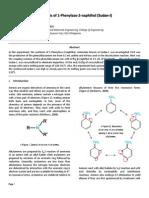 Synthesis of 1 Phenylazo 2 Naphthol