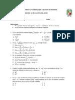 Calculo Integral 2012-i