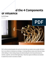 Understand the 4 Components of Influence