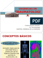 URGENCIAS TRAUMA