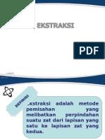 Ekstraksi