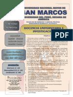Docencia Universitaria e Investigación
