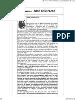 Biografias - José Bonifácio