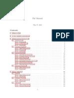Pnl Manual