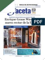 Gaceta UNAM 09/11/15