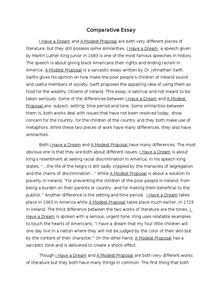 interpretive essay of a modest proposal A summary of analysis in jonathan swift's a modest proposal learn exactly what happened in this chapter, scene, or section of a modest proposal and what it means.