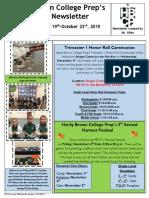 Newsletter - 10.19.2015