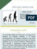 Evoluciòn Del Lenguaje