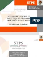 REGLAMENTO GENERAL DE INSPECCIONES Y SANCIONES
