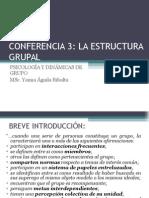 Conferencia 3-Estructura Del Grupo