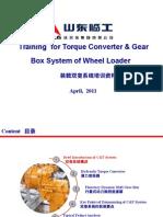Training for Torque Converter & Gear Box System of Wheel Loader