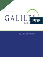 Manual de Identidade Visual - GALILEI