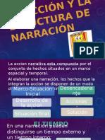 La Acción y La Etructura de Narración