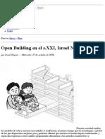 Open Building en El s.xxi, Israel Nagore « La Ciudad Viva