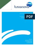 Manual de Identidade Visual - Lusanova