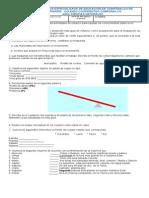 Guía de refuerzo naturales 4° periodo