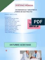 Alteracion de Acido Basico - Electrolitos