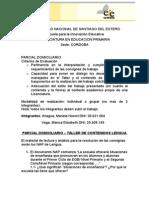 Parcial Domiciliario Taller de Lengua