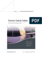 Avionics Fiber Optical Cables