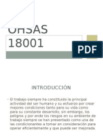 OHSAS 18001 y Casos Practicos