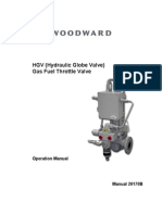 HGV Gas Fuel Throttle Valve