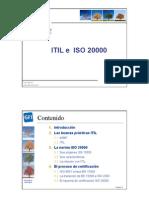 ITIL E ISO 20000