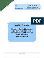 Desarrollo de Sistemas de Información con arquitectura JAVA