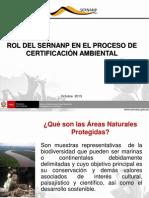 Rol Del Sernanp en El Proceso de Certificación Ambiental Pedro Gamboa