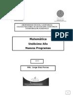 Resumen Matematica Bachillerato Costa Rica 11mo