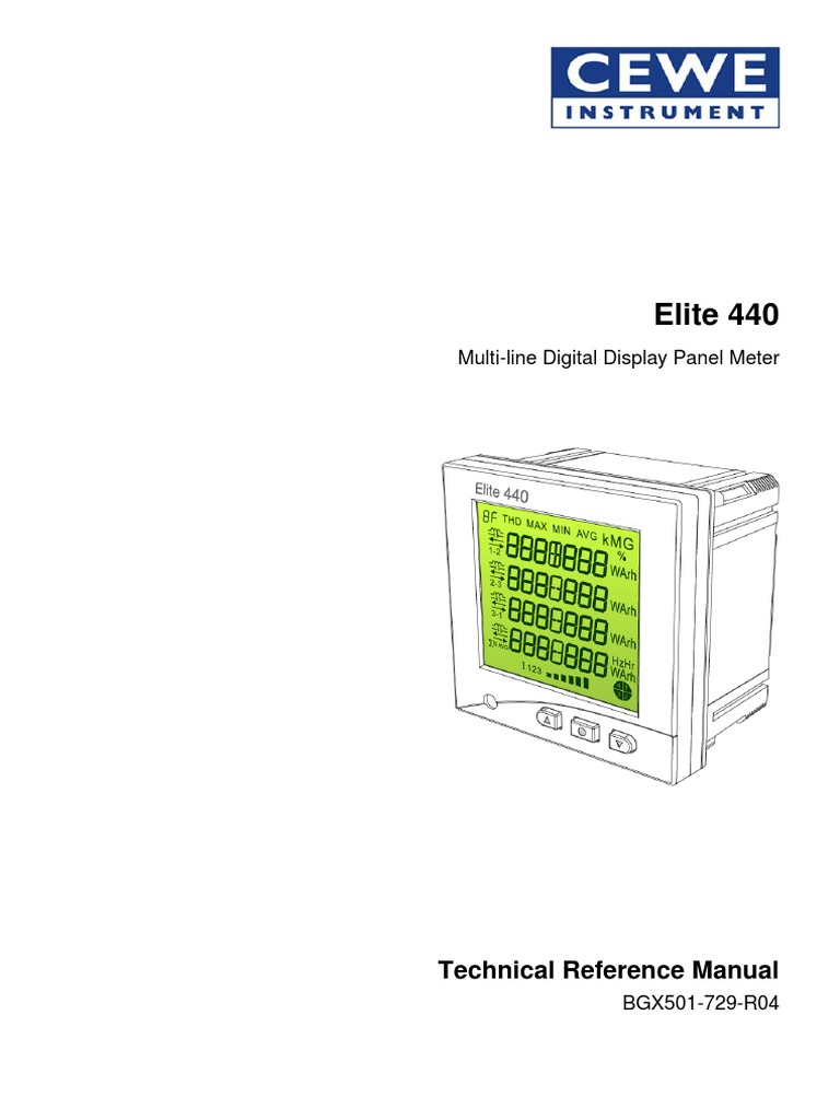 Elite 440  Technical Reference Manual