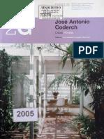2g José Antonio Coderch