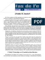 61 - Paulo VI beato... (Defensa de la Fe).pdf