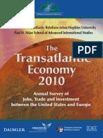 The Transatlantic Economy 2010