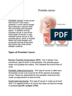 Normal Prostate GlandProstate Gland With Tumor