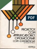 Projeto com amplificadores operacionais